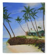 Beach House Fleece Blanket