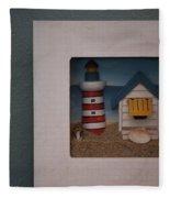 Beach House Fleece Blanket