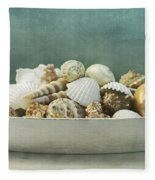Beach In A Bowl Fleece Blanket