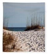 Beach Path Fleece Blanket