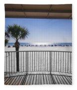 Beach Patio Fleece Blanket