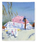 Beach Recliner Fleece Blanket