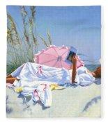 Beach Recliner Fleece Blanket