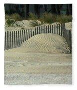 Beach Sand Dunes Fleece Blanket