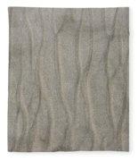 Beach Sand Pattern Fleece Blanket