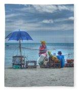 Beach Sellers Fleece Blanket