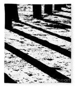 Beach Shadows Fleece Blanket