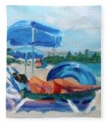 Beach Siesta Fleece Blanket