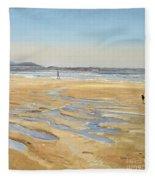 Beach Strollers  Fleece Blanket