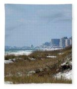 Beach To City Fleece Blanket