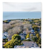 Beach Town Fleece Blanket