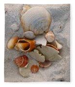 Beach Treasures Fleece Blanket