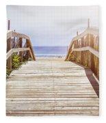 Beach View Fleece Blanket