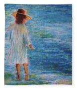 Beach Walker Fleece Blanket