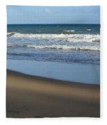 Beach Waves 1 Fleece Blanket