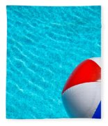 Beachball 1 Fleece Blanket