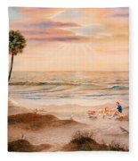 Beachcombers Fleece Blanket