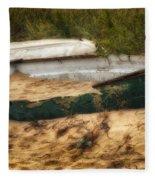 Beached Fleece Blanket