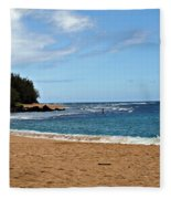 Beachfront Fleece Blanket