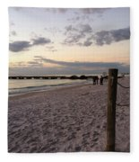 Beachscape Fleece Blanket