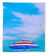 Beachtime Usa Fleece Blanket