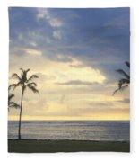 Beachwalk Series - No 18 Fleece Blanket