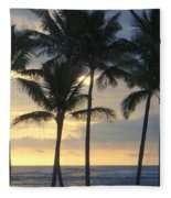 Beachwalk Series - No 7 Fleece Blanket