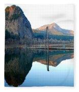 Beacon Rock Reflecions Fleece Blanket