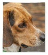 Beagle Loyalty Fleece Blanket