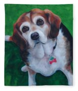 Beagle Fleece Blanket