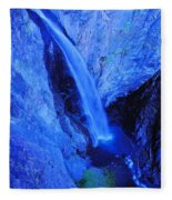 Bear Creek Falls Clolorado Fleece Blanket