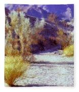 Bear Creek Trail II Fleece Blanket
