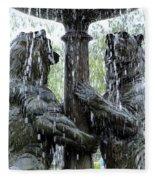 Bear Fountain Fleece Blanket