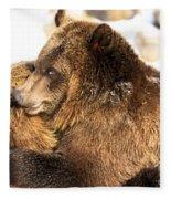 Bear Hug Fleece Blanket