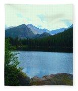 Bear Lake - Colorado Fleece Blanket