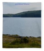 Bear Mountain Fleece Blanket