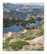 Beartooth Wildflowers Fleece Blanket