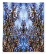 Beast In The Sacred Forest Fleece Blanket