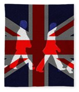 Beatles Abbey Road Flag Fleece Blanket