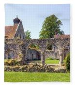 Beaulieu Abbey Fleece Blanket