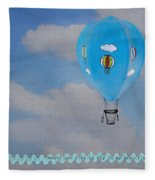 Beautiful Balloon Fleece Blanket