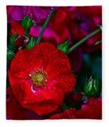 Beautiful Bouquet Fleece Blanket