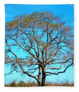 Beautiful Branching Fleece Blanket