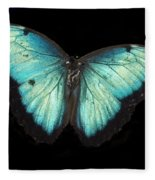 Beautiful Butterfly Fleece Blanket