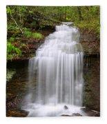 Beautiful Cascade Fleece Blanket