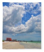 Beautiful Clearwater Beach Fleece Blanket