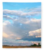 Beautiful Day By The Bay Fleece Blanket