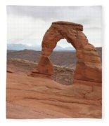 Beautiful Delicate Arch Fleece Blanket
