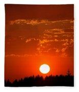 Beautiful Evening I Fleece Blanket