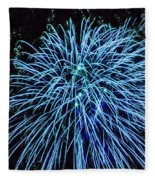 Beautiful Fireworks 13 Fleece Blanket